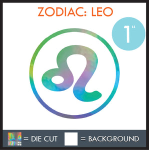 HAZE DECALS - ZODIAC SERIES - MULTI-SIZE - HOLOGRAPHIC
