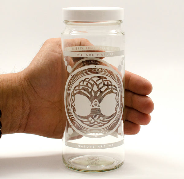 TREE OF LIFE JAR - IN STOCK NOW! - Vibe Bottle