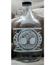 Load image into Gallery viewer, TREE OF LIFE CELTIC JUG 64 OZ - Vibe Bottle