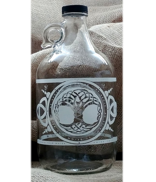 64 oz. Jug - Tree of Life - Vibe Bottle