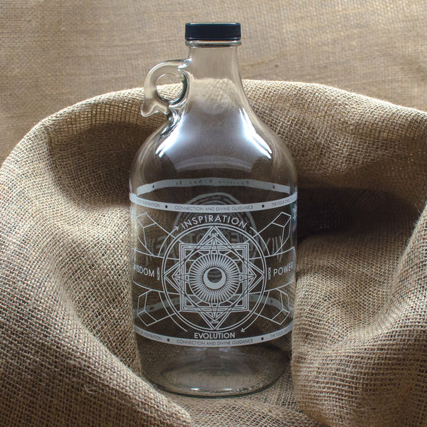EYE OF INSPIRATION JUG - 64 OZ. - IN STOCK NOW! - Vibe Bottle