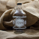 LOVE YOURSELF JUG 64 OZ - Vibe Bottle