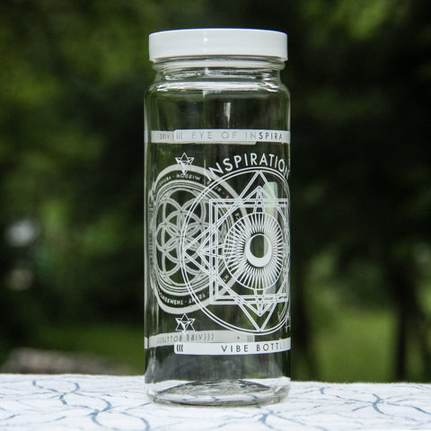 EYE OF INSPIRATION JAR 16 OZ - Vibe Bottle