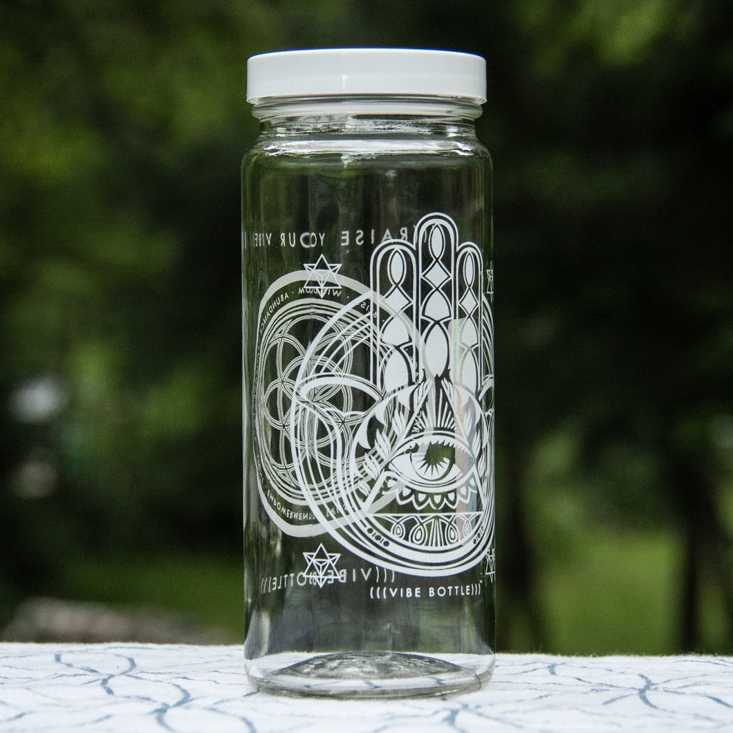 HAMSA PROTECTOR 16 OZ JAR - Vibe Bottle