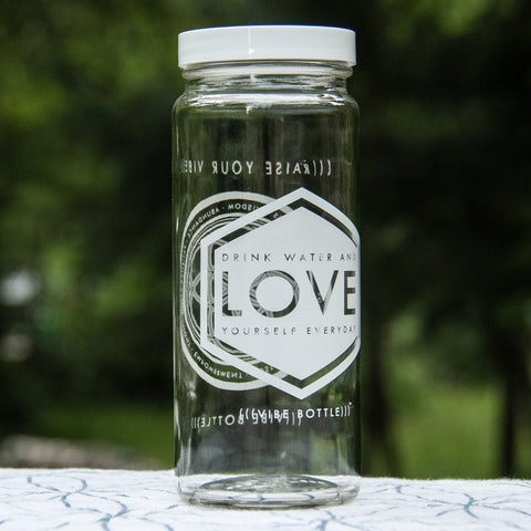LOVE YOURSELF 16 OZ JAR - Vibe Bottle