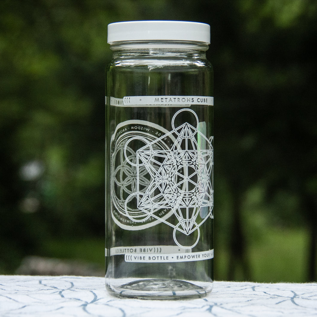 METATRON JAR 16 OZ - Vibe Bottle