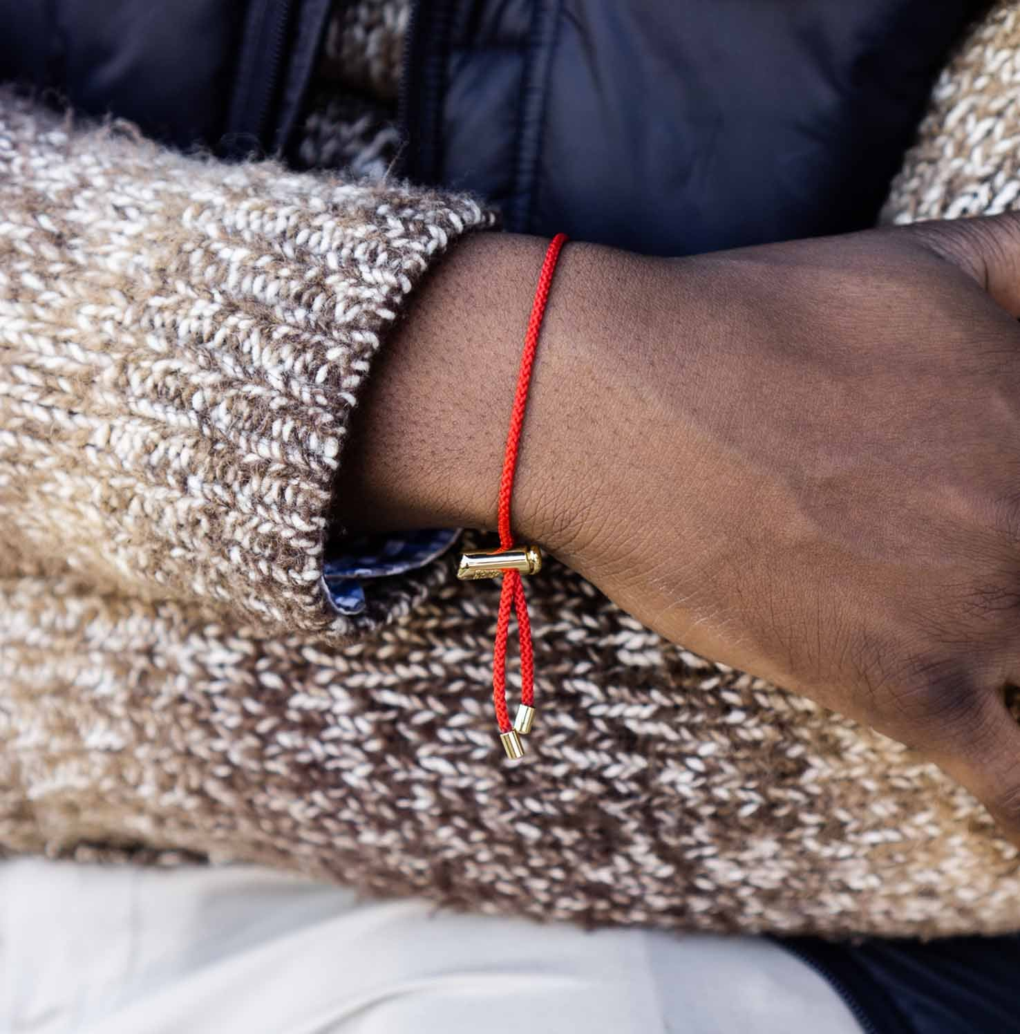 Cameron Cord Bracelet | Red 2