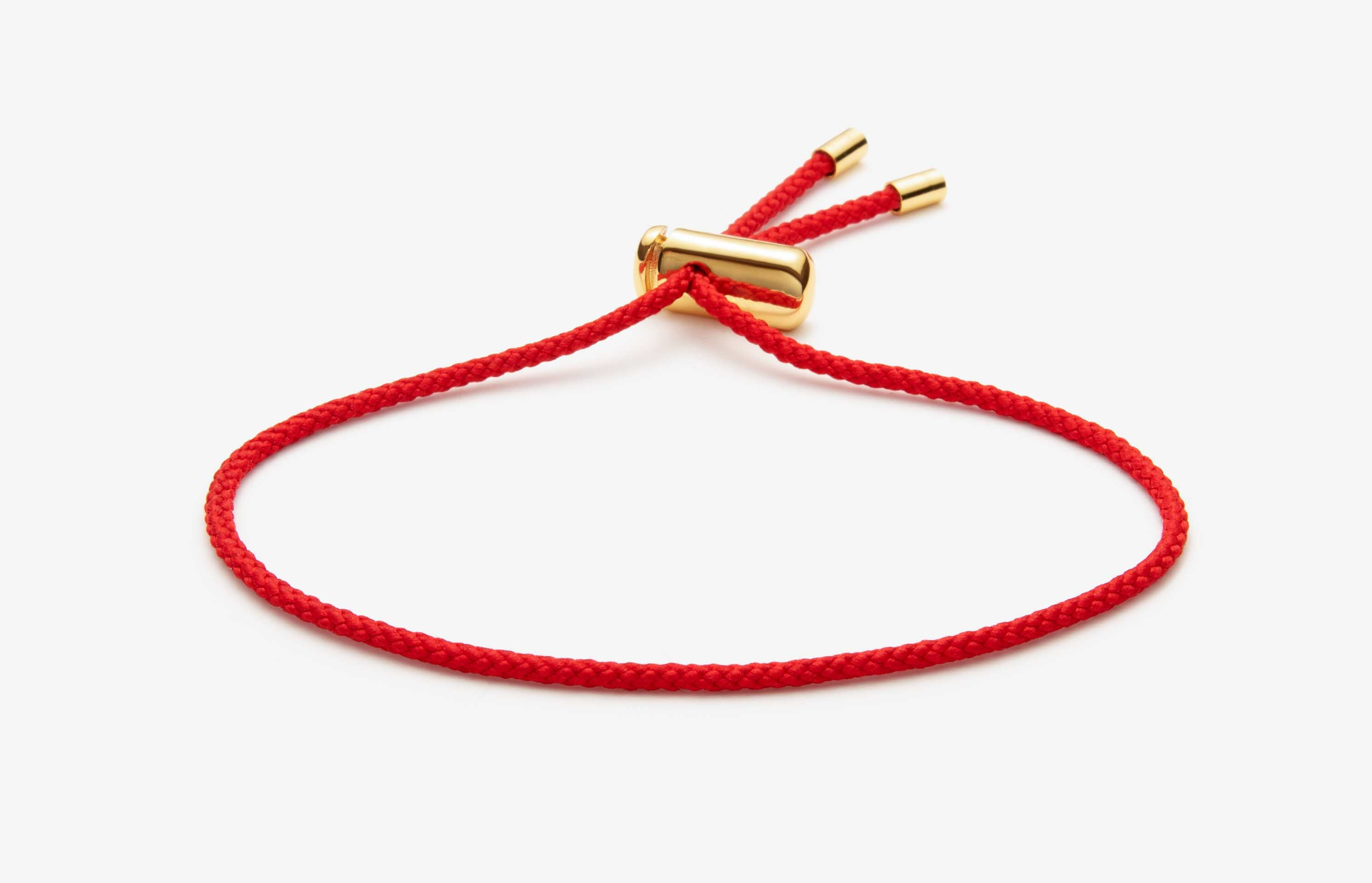 Cameron Cord Bracelet | Red 1
