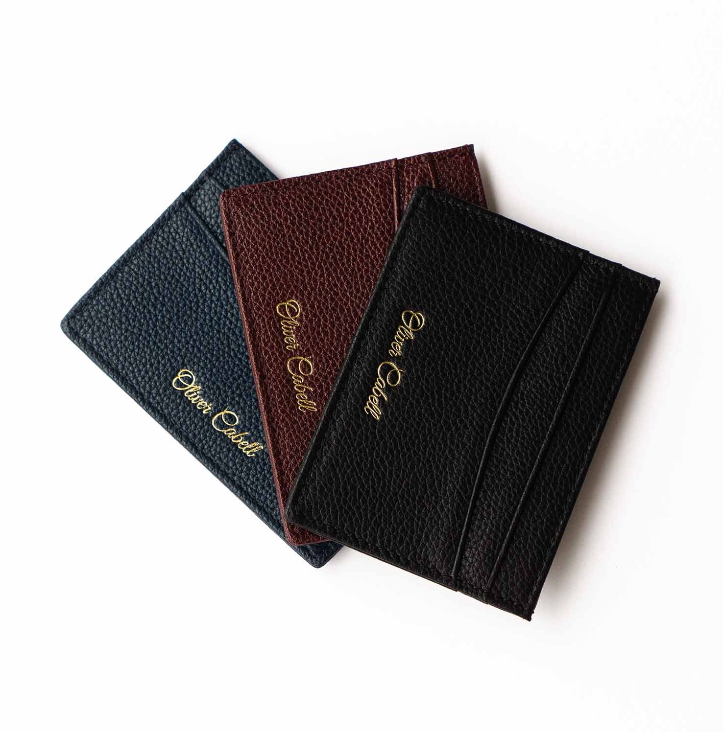 OC Leather Card Holder | Black 3