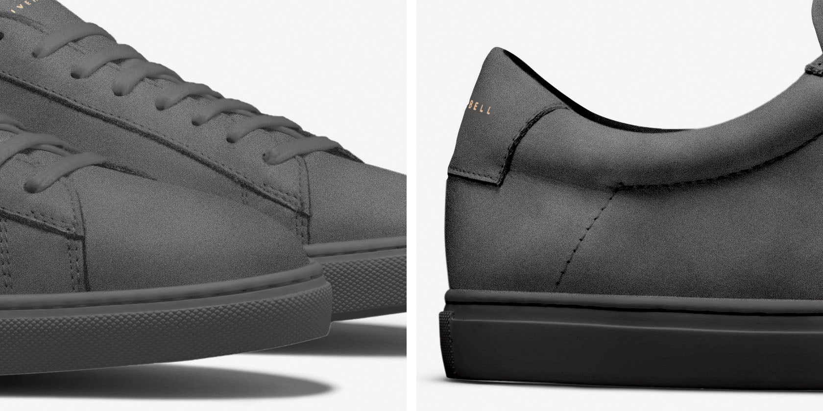 Design Details for Low 1 | Charcoal Nubuck