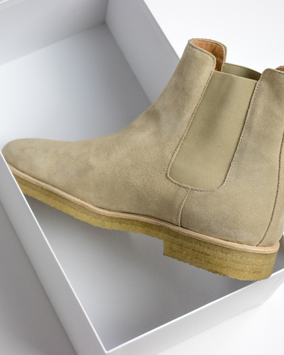 Design Details for Chelsea Boot | Lion