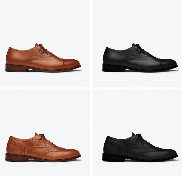 Oliver Cabell Wing Tip Dress Shoes