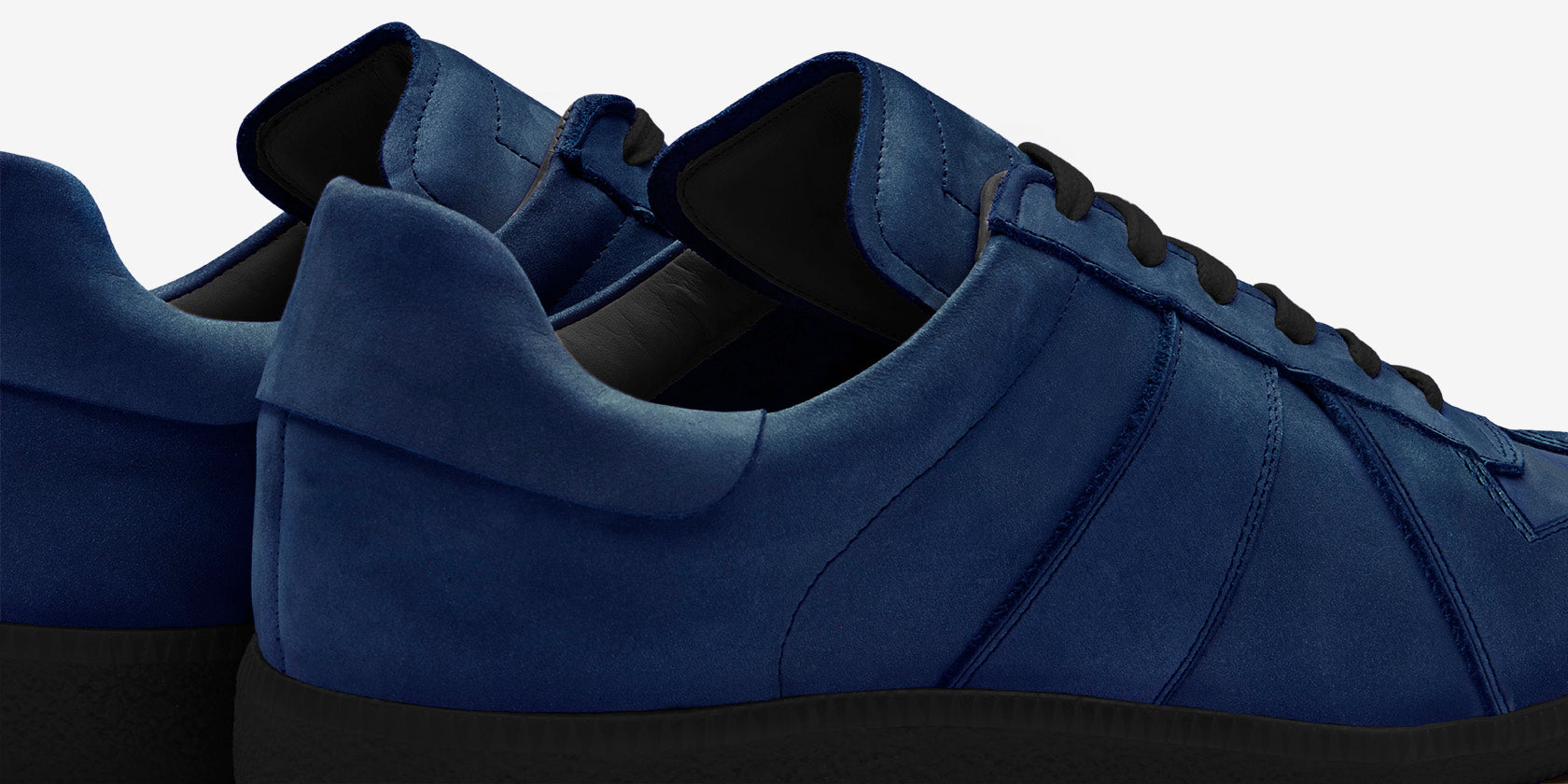 Design Details for GAT | Navy Nubuck