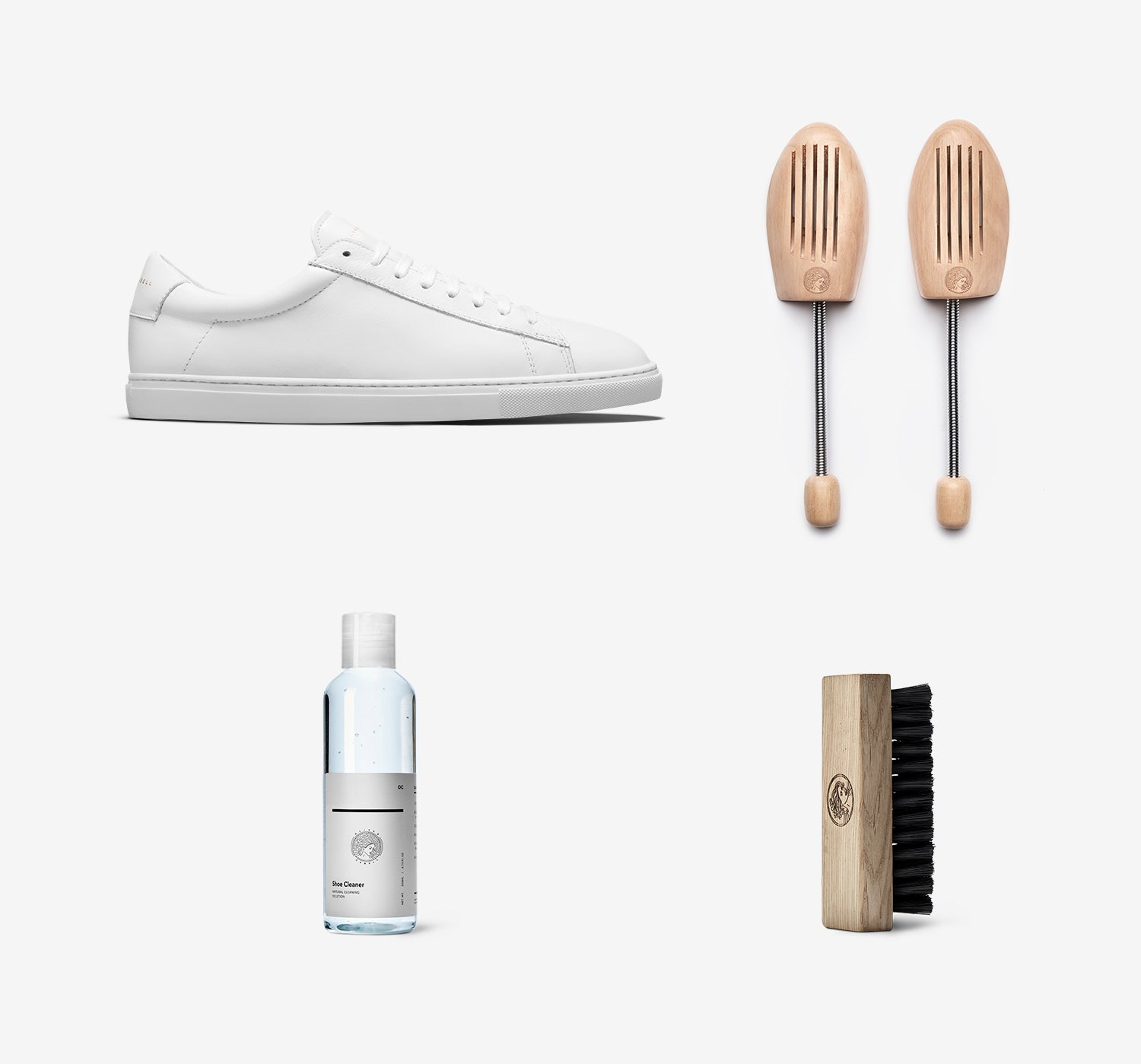 Low 1 White Essentials Set