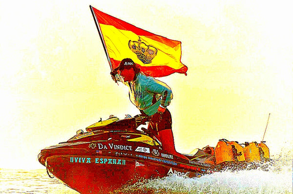 Around The World Via Jet Ski - Alvaro De Marichalar - Opens our Minds to ALL Possibility
