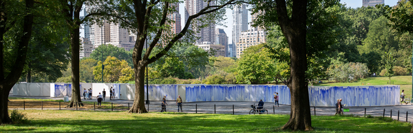 Breathe With Me - Artist Jeppe Hein & Michou Mahtani Take A Breath in Central Park