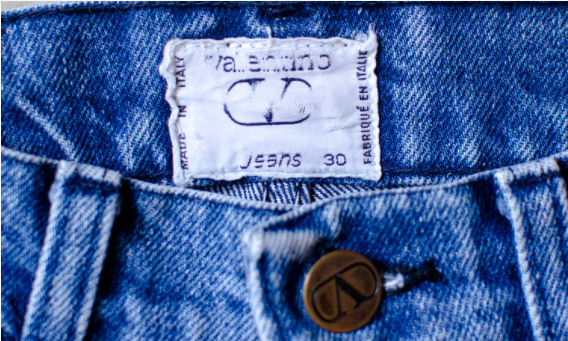 "The Emperor & I - VALENTINO -  A ""How To""  Bring Back Your Favourite Childhood Jeans"