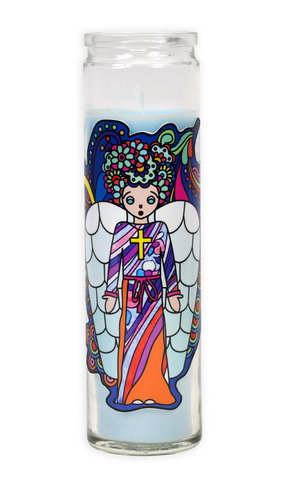 Pop Art Saint Candles