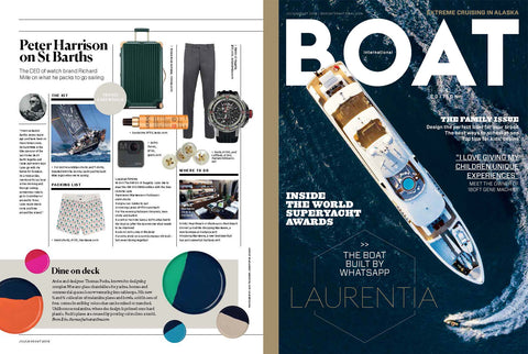 Thomas Fuchs Feature Boat International