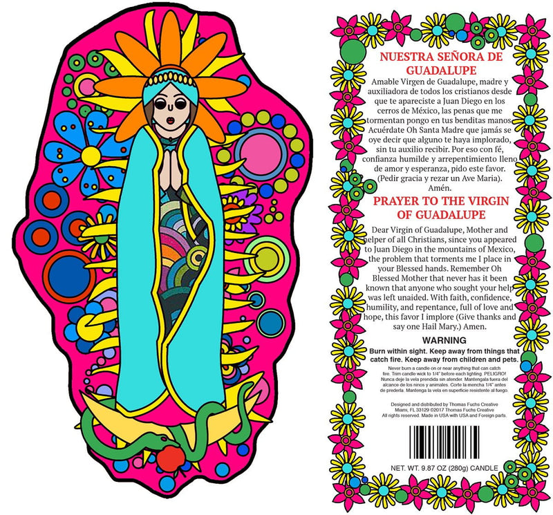 Virgin of Guadalupe - Pop Art Collection