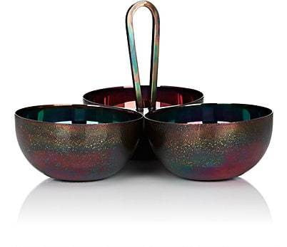 Blaze Barware 3-Part Dish