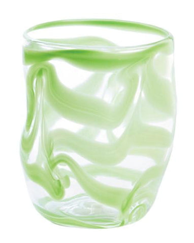 Set of Six - Aria - Green - Swirl