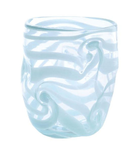 Set of Six - Aria - Blue - Swirl