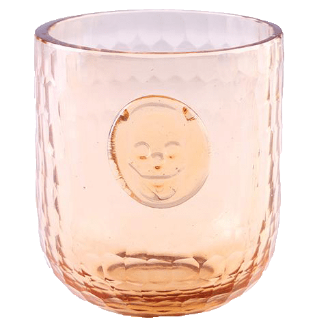 Bonehead Skull Wine Melon Glass