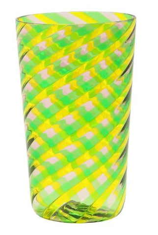Set of Six - Candy - Lime Green/Yellow