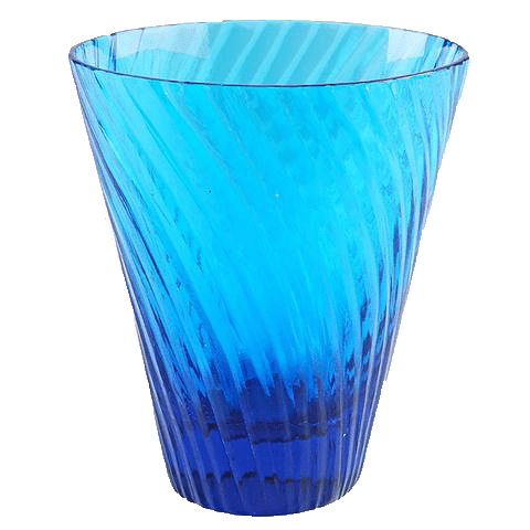 Cyclone Glass Turquoise