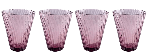 Cyclone Glass Plum