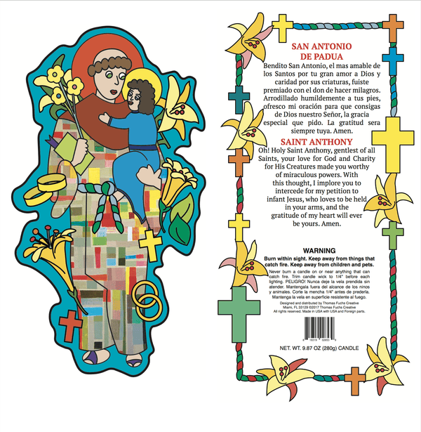 Saint Anthony - Pop Art Collection