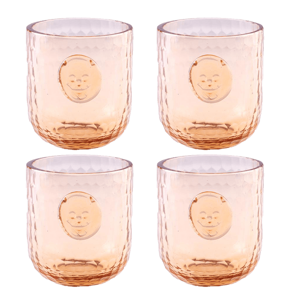 Bonehead Skull Wine Melon Glass - Set of 4