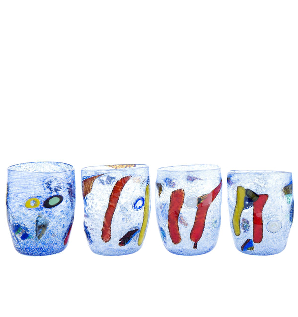 PRE-ORDER Set of Six - Silver - Blue Collection