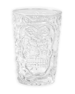 Candy Skull Drinking Glass - Set of 4