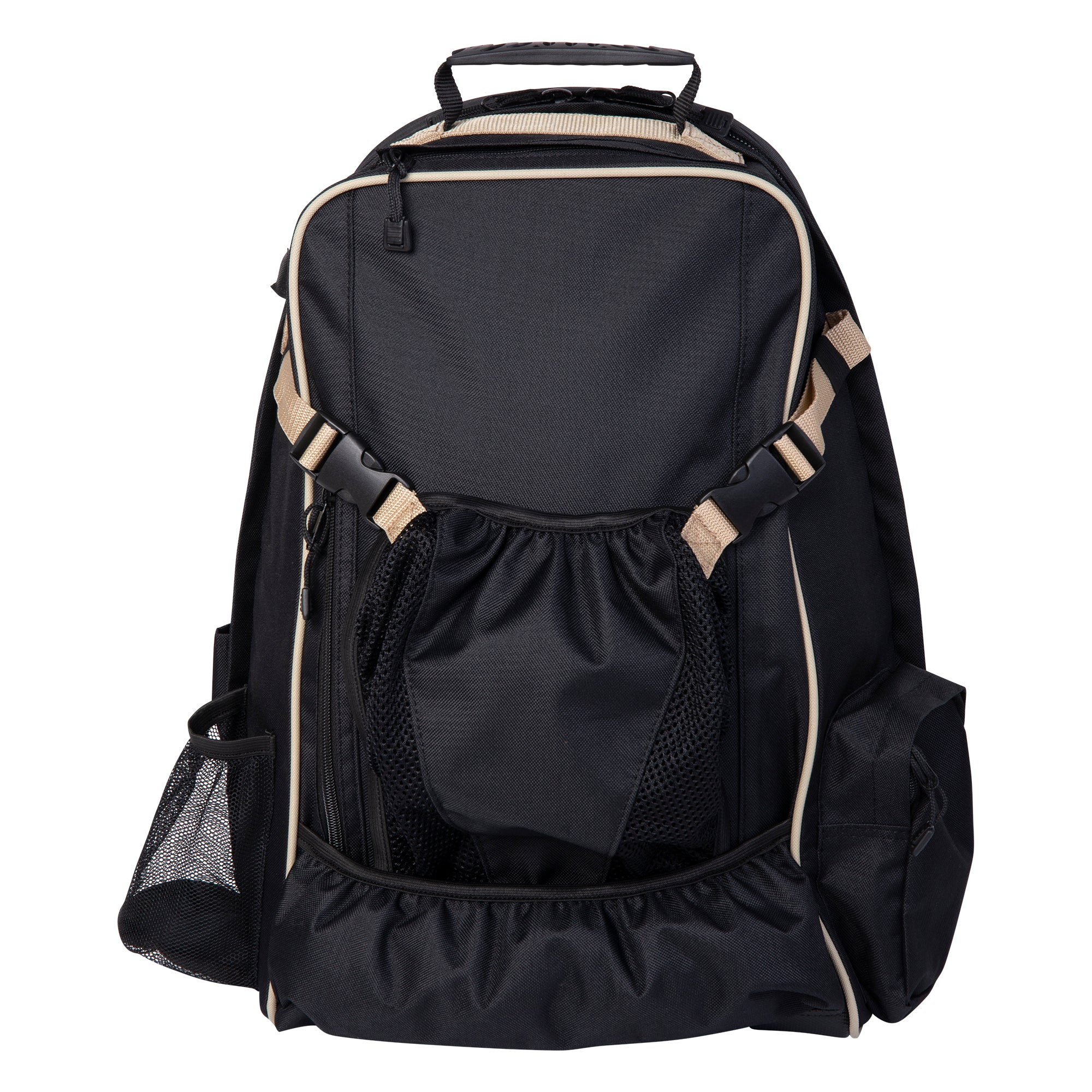 Huntley Equestrian Deluxe Equestrian Backpack, Black - Huntley Equestrian
