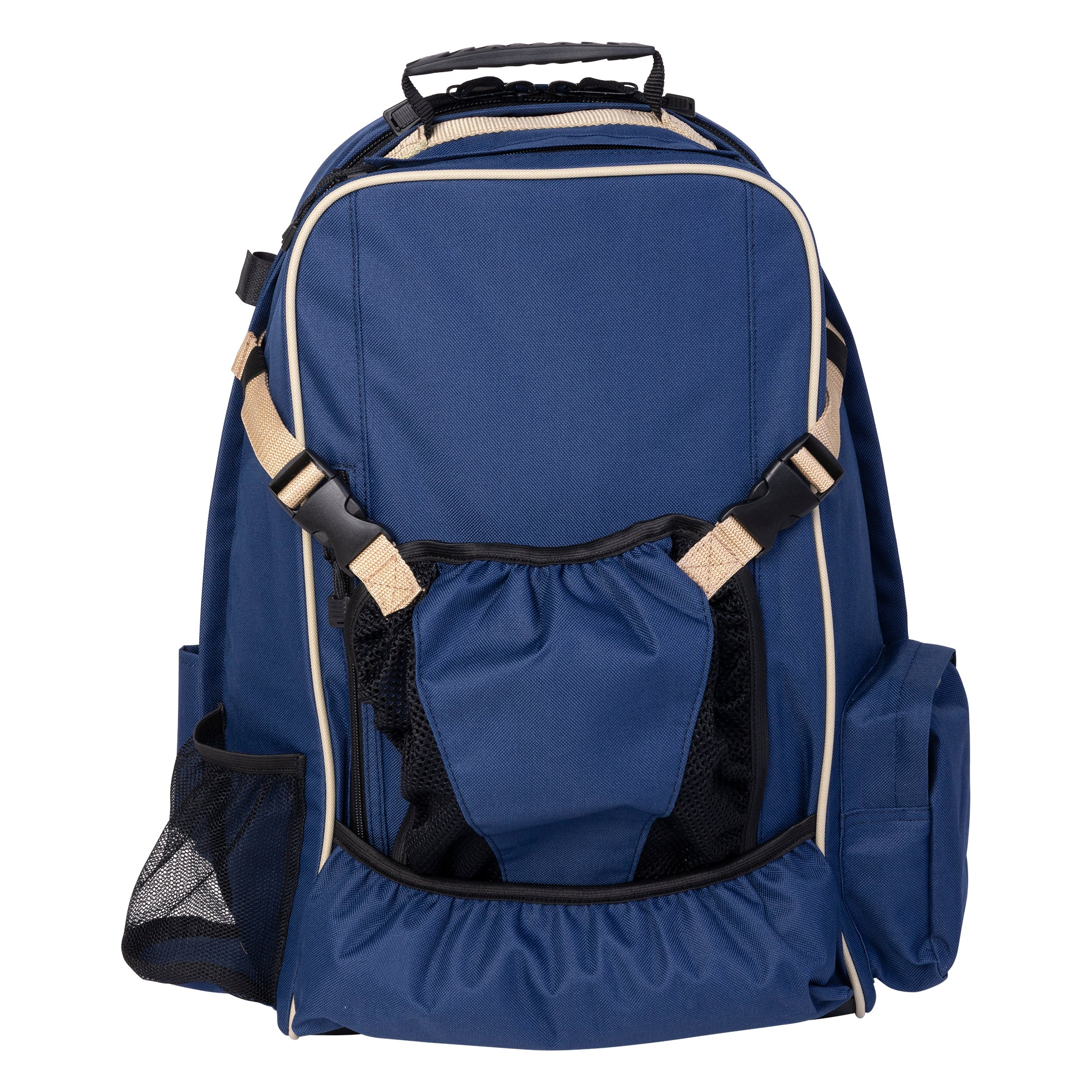 Huntley Equestrian Deluxe Equestrian Backpack, Navy
