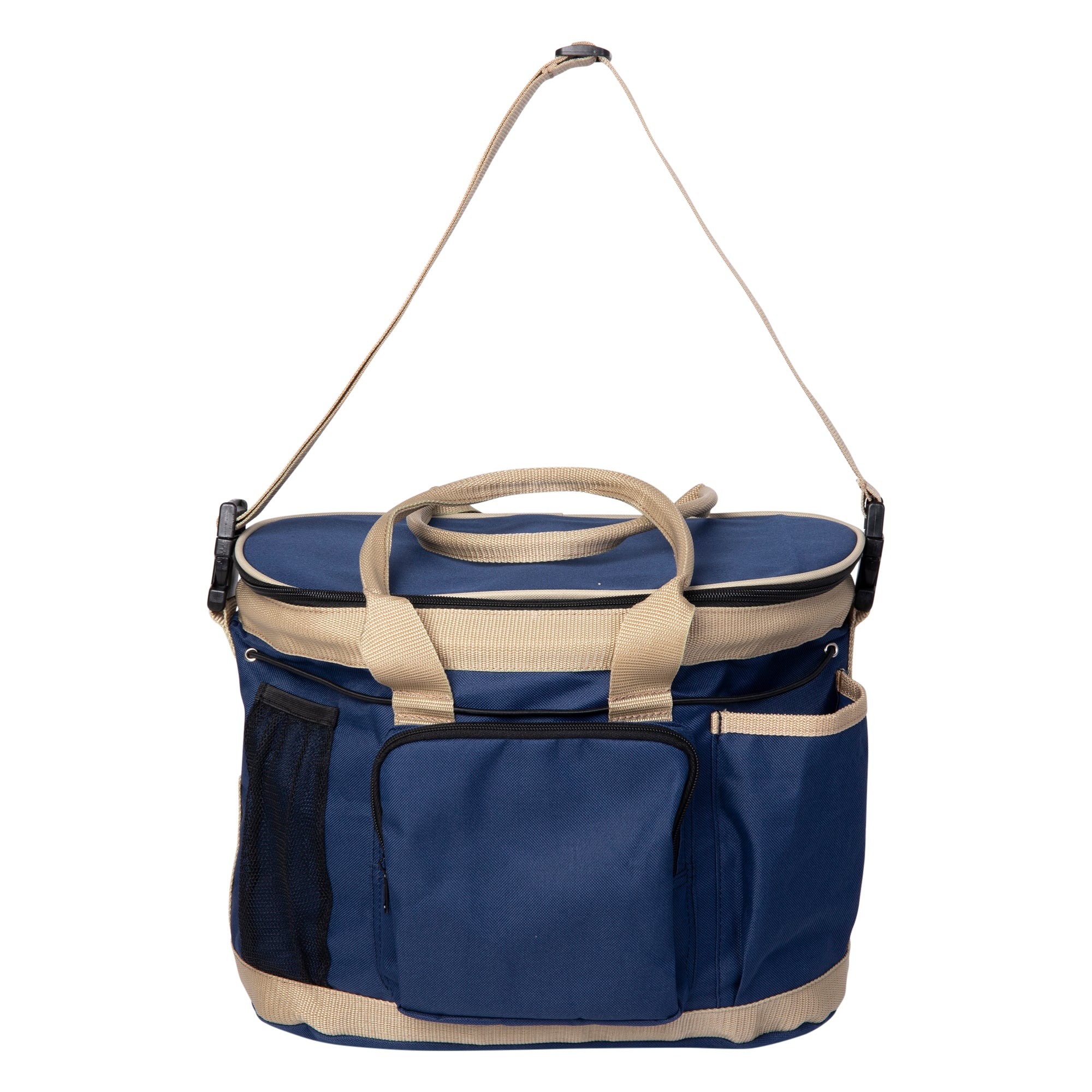 Huntley Equestrian Deluxe Grooming Bag, Navy