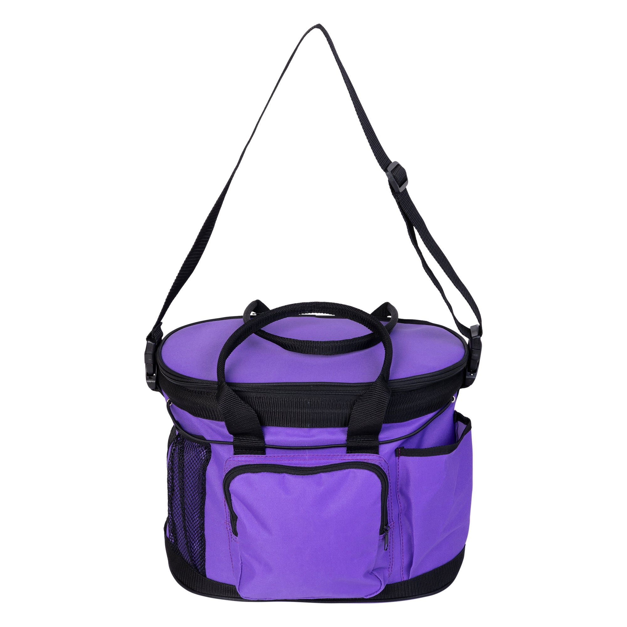 Huntley Equestrian Deluxe Grooming Bag, Purple