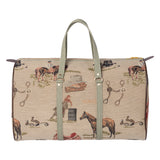 Huntley Equestrian Tapestry Duffle Bag - Huntley Equestrian