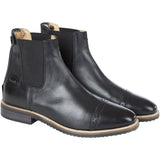 Huntley Equestrian Adult Classic Black Leather Zipper Paddock Boot - Huntley Equestrian