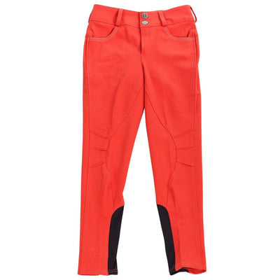 Daisy Clipper Children's Red Riding Pant with Butterfly Pockets - Huntley Equestrian