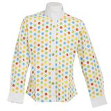 Daisy Clipper Children's Polka Dot Long Sleeve Riding Shirt - Huntley Equestrian