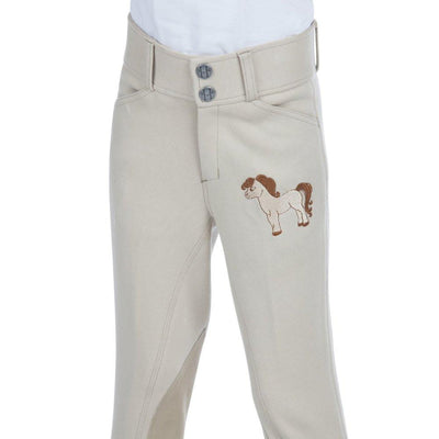 Daisy Clipper Children's Embroidered Pony Riding Pants SPORTING_GOODS Huntley Equestrian