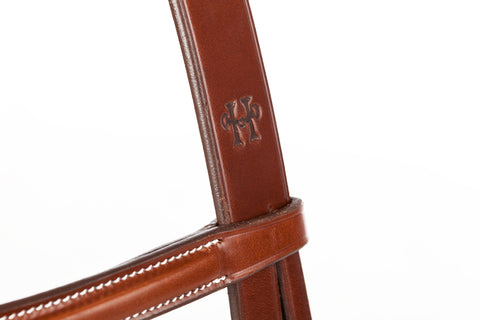 Huntley Equestrian Sedgwick Leather Fancy Stitched English Bridle Pieces - Huntley Equestrian