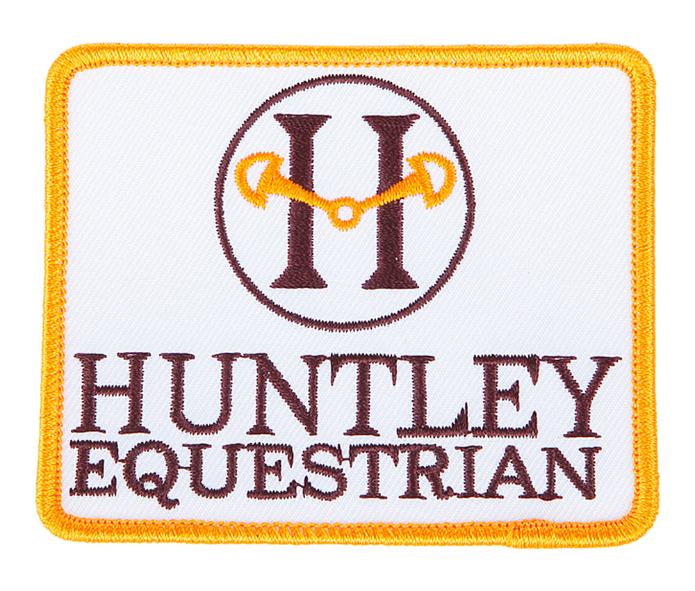 Huntley Equestrian Iron On/Sew On Patch - Huntley Equestrian
