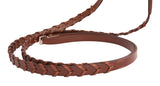 Huntley Equestrian Sedgwick Fancy Stitched Square Raised Laced Reins - Huntley Equestrian