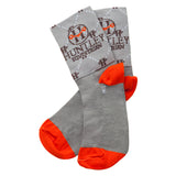 "Huntley Equestrian Logo 4"" Inch Coolmax Paddock Boot Socks - Huntley Equestrian"