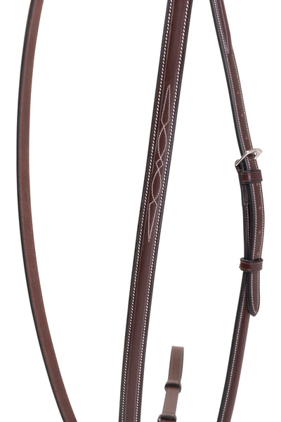 Huntley Equestrian Sedgwick Fancy Stitched Raised Standing Martingale - Huntley Equestrian