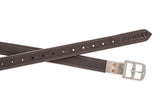 Huntley Equestrian Sedgwick Leather Flat Buckle Stirrup Leathers